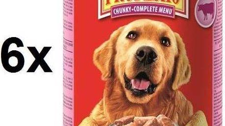 Propesko kousky pes hovězí + kuřecí + zvěřina 6 x 1240 g