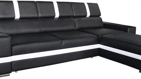 Rohová sedací souprava STRAKOŠ Davos II-P s úložným prostorem