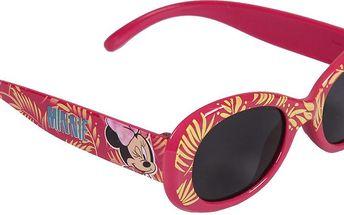 Disney Brand Dívčí sluneční brýle Minnie - růžové