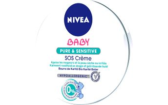 Nivea Baby Pure&Sensitive SOS krém 150ml