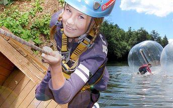 Adrenalinové atrakce a aktivity pro malé i velké