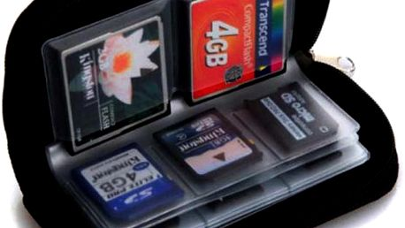 Pořadač na paměťové karty - 22 slotů