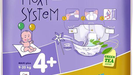 Bella Happy Maxi Plus 9-20 kg, 50 ks - jednorázové pleny