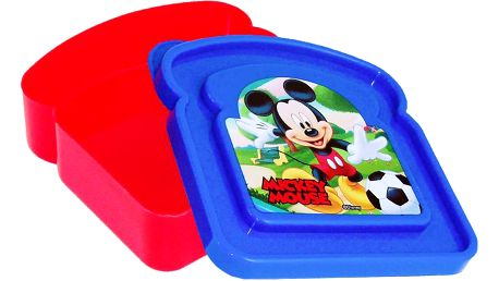Disney Box Mickey Mouse - modro-červený