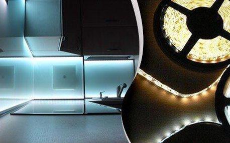 Bílé a barevné (RGB) LED pásky a příslušenství