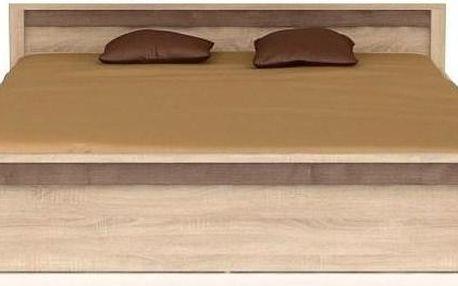 Dvojlůžková postel Arbaro - 160 x 200 cm - DOPRAVA ZDARMA!