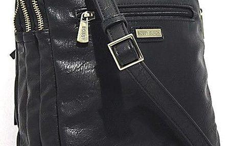 Taška přes rameno Bobby Black - černá, 22x26 cm