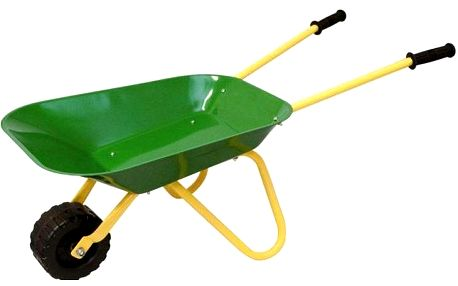 WOODY Kolečko zelené, kov