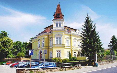 2 až 6 dní s polopenzí a wellness v hotelu Nobys v jižních Čechách pro 2 + 1 či 2 děti
