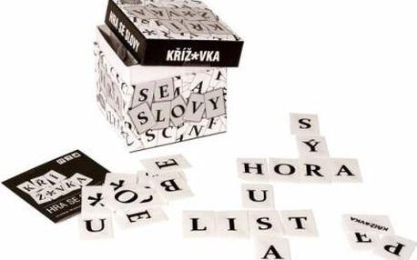 Albi Křížovka, dynamická hra se slovy, která se stále mění, vhodné od 7 let