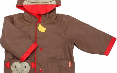 SKIP HOP Zoo Kabátek do deště - Opička / v.3-4