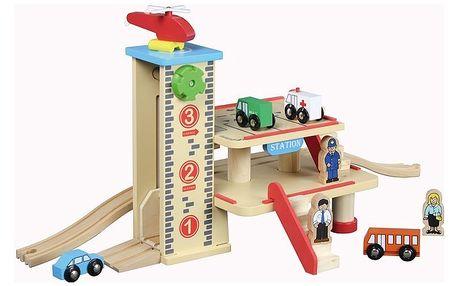 Nádraží s garáží a výtahem - Maxim 50421