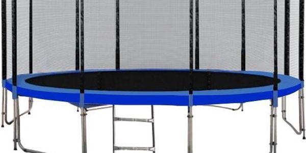 Trampolína DUVLAN 488 cm + ochranná síť + schůdky