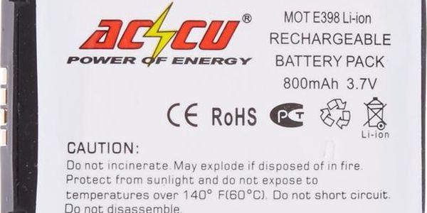 Accu baterie pro Motorola E398 800mAh Li-ion pro E398