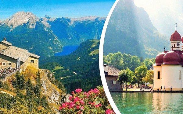 1denní zájezd pro jednoho do Hitlerovy pevnosti Orlí hnízdo a na jezero Konigsee - letní termíny!