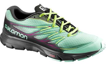 Salomon Sense Link W Lucite Green/Black/Granny Green 38,7