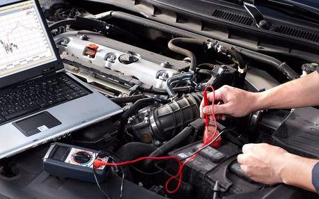 Diagnostika motoru automobilu všech značek