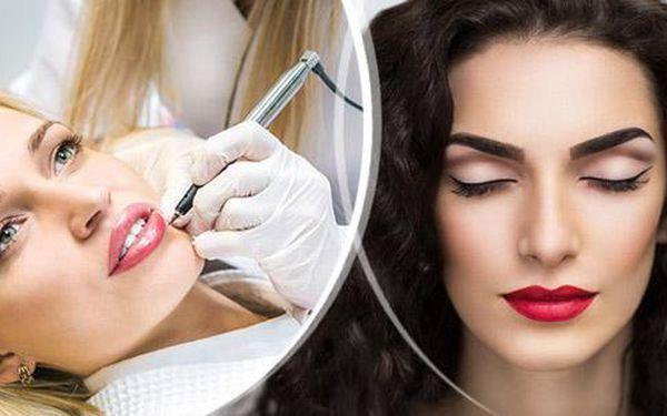Permanentní make-up dle vybrané partie na Praze 4. Horní či dolní linky, obočí, či kontura rtů pro vaši krásu.