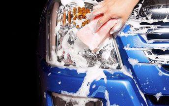 Ruční mytí vozu + vysátí interiéru