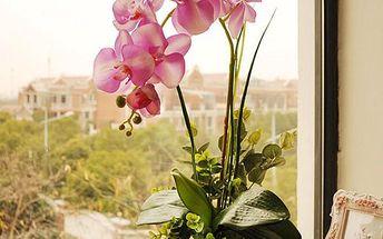 Umělá orchidej - 1 kus