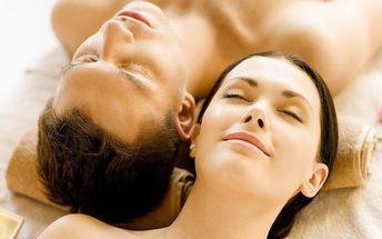 50minutová klasická, relaxační nebo bali masáž pro 2