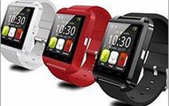 Bluetooth Inteligentní Watch náramkové hodinky ve třech barvách. Perfektní hračka pro příznivce aktivního životního stylu.