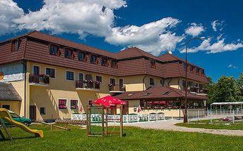 3–6denní pobyt s polopenzí, sportem a all inclusive nápoji v hotelu Na pláži***+ u Lipna