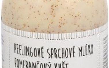 Sefiros Peelingové sprchové mléko Pomerančový květ (Body Peeling Cleansing Milk) 500 ml