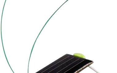 Solární hračka ve tvaru luční kobylky