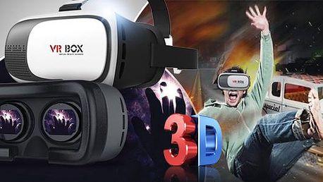 3D brýle pro virtuální realitu vč. ovladače a poštovného! Navštivte jakékolv místo na světě jako doopravdy!