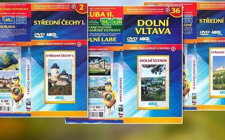 Sada 3 DVD z edice Nejkrásnější místa v ČR