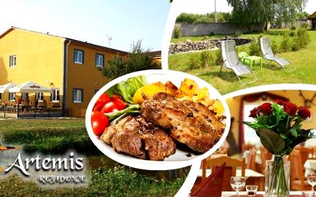 Prožijte 3 báječné dny a 2 noci s večeřemi pro dva ve středních Čechách ve stylovém a oblíbenémpenzionu Rezidence Artemis ze bezkonkurenční cenu. Nedaleko zajímavých turistických cílů s rozsáhlou sítí turistických tras a cyklostezek.