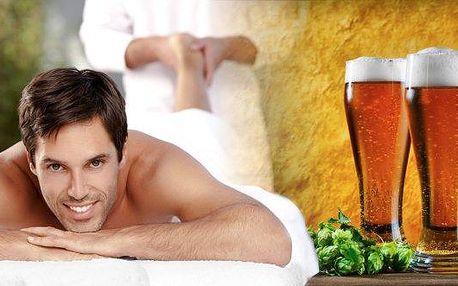 Pivní masáž šíje a zad nejen pro tvrdé chlapy.30 minutová relaxace v salonu Miruš zakončená dárkem v podobě plechovky piva! Kde jinde než ve městě piva Plzni.