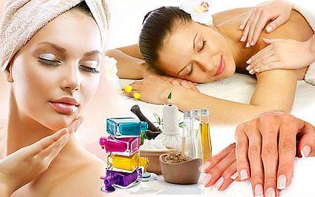 Beauty balíček včetně masáže ve studiu Step v Praze