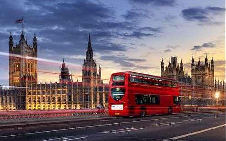Super zájezd Londýn na 5 dní. Oxford street, Windsor s ubytováním v hotelu *** se snídaní