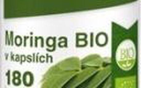 Moringa BIO RAW 180 kapslí