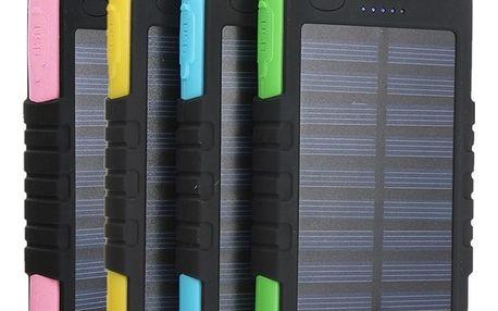 Solární nabíječka s kapacitou 5000mAh