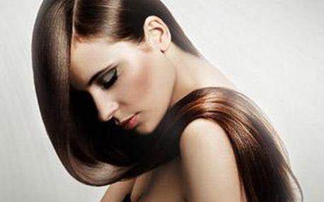 Barva nebo melír, mytí, maska, foukaná a finální styling pro jakoukoliv délku vlasů.
