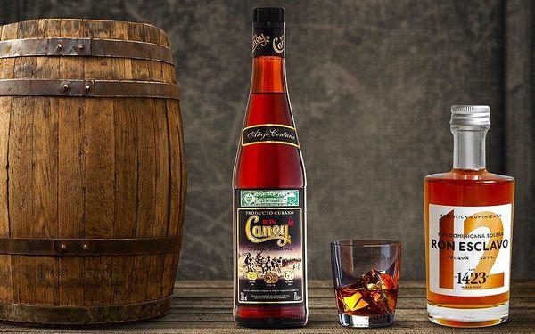 Kubánský rum Caney Anejo Centuria a Esclavo