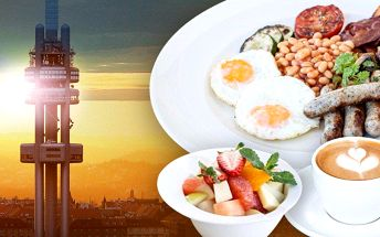 Snídaně v Café Oblaca a výhled z observatoře