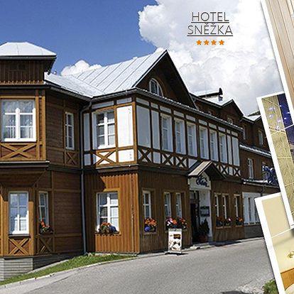Wellness pobyt pro dva ve 4*Hotelu Sněžka. Polopenze, Spa & Relax centrum a mnoho dalšího!!