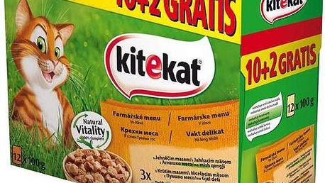 Kapsička Kitekat Farmářské menu 12pack