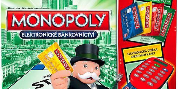 Monopoly Elektronické bankovnictví - nové vydání
