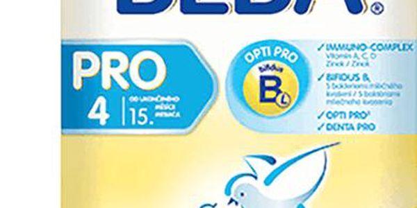 6x Nestlé Beba 4 PRO (600 g)