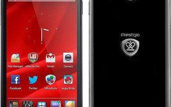 Mobilní telefon Prestigio MultiPhone 5300 Duo + 200 Kč za registraci + dodatečná sleva 20 %