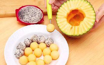 Nástroj na vyřezávání ovoce - zelená - skladovka - poštovné zdarma