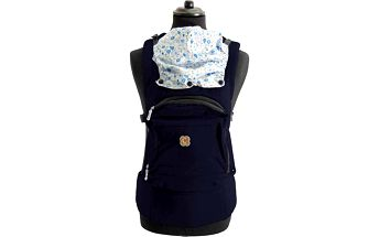 BabyGO Dětský nosič - modrý