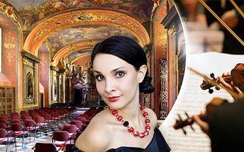 Koncert vážné hudby v Zrcadlové kapli Klementina - různé programy, desítky termínů do června! Vivaldi, Mozart...