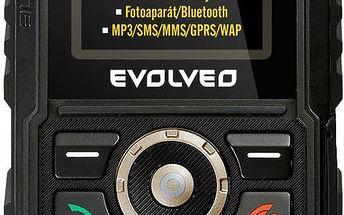 Mobilní telefon Evolveo StrongPhone Accu, černý + 200 Kč za registraci + dodatečná sleva 20 %