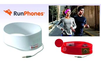 AcousticSheep RunPhones® Classic White S RC2WS